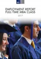 Cover of MBA employment report 2017