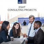 Thumbnail of the ESMT MBA Consulting projects 2019 brochure