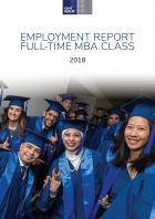 MBA employment report 2018