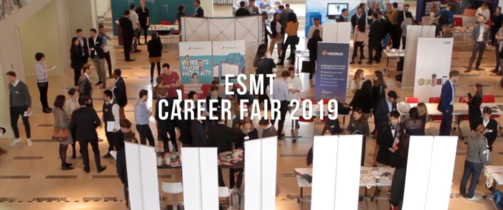 Career fair screenshot